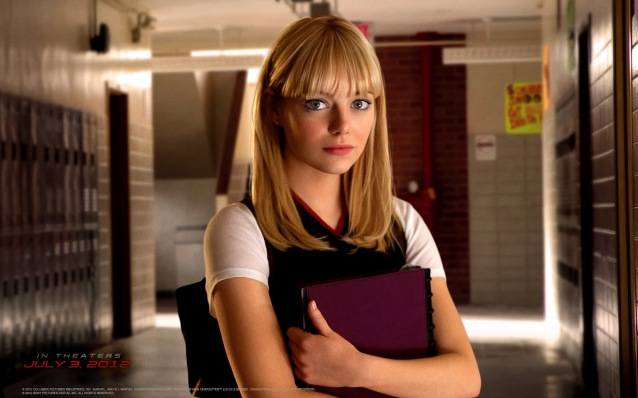 the amazing spiderman movie gwen stacy poster